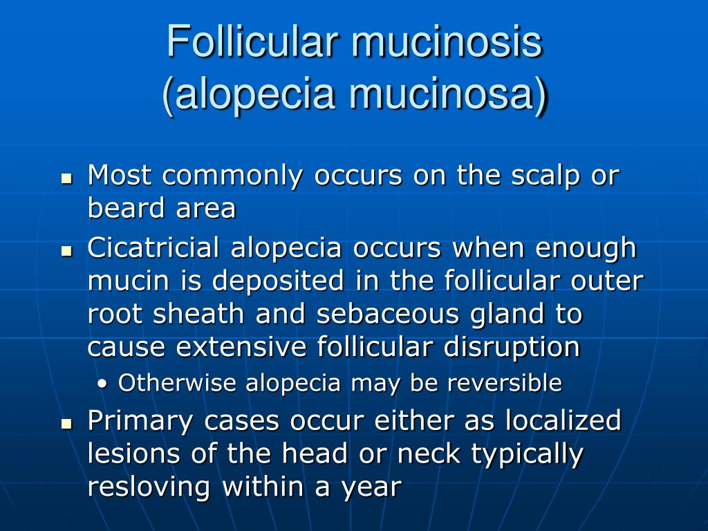 Follicular mucinosis