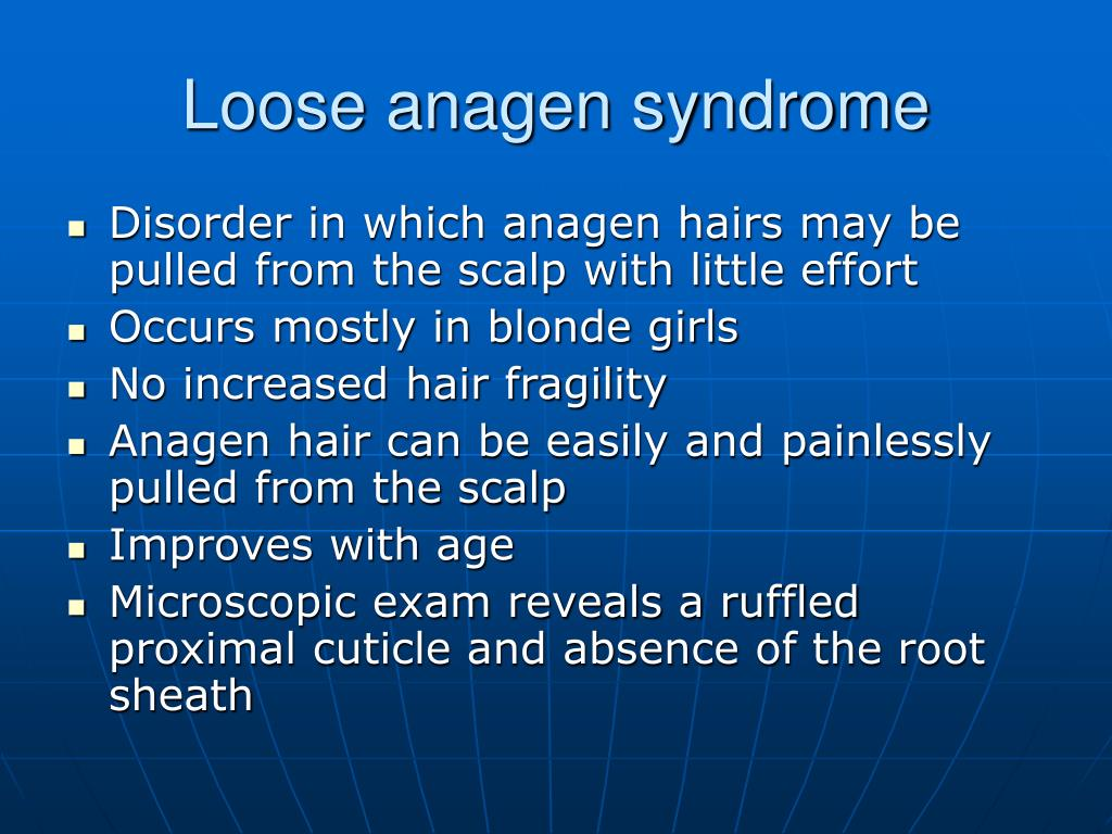 Loose anagen syndrome