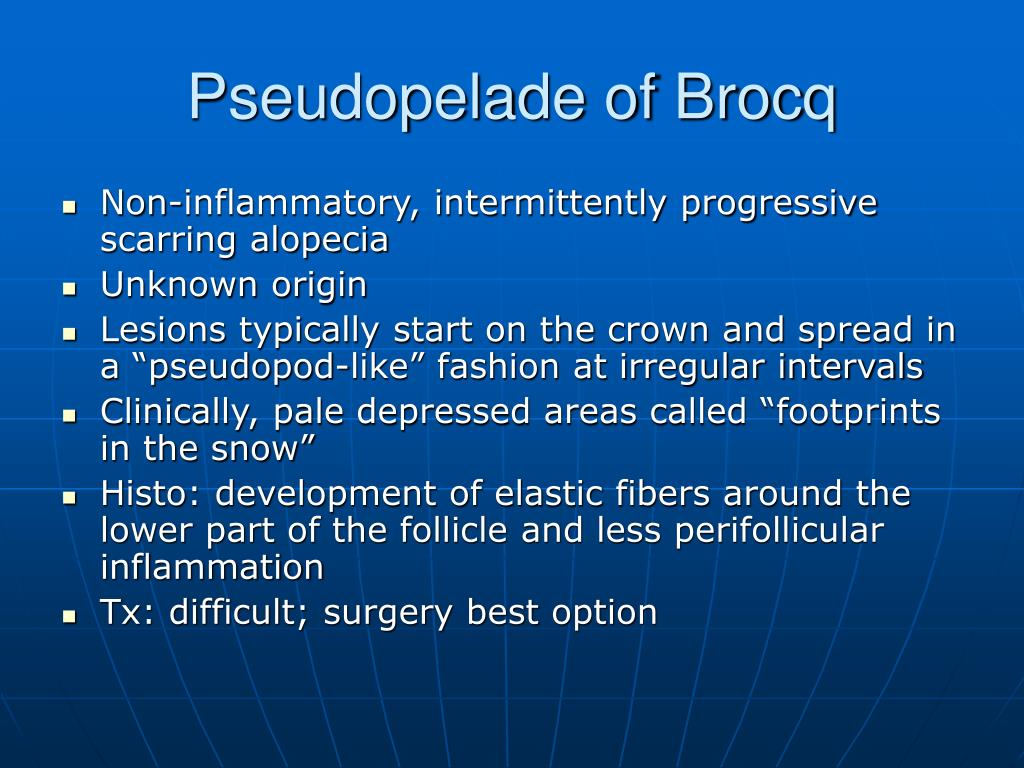 Pseudopelade of Brocq