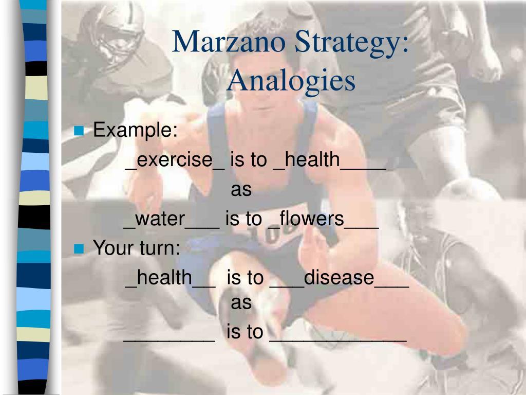 Marzano Strategy:
