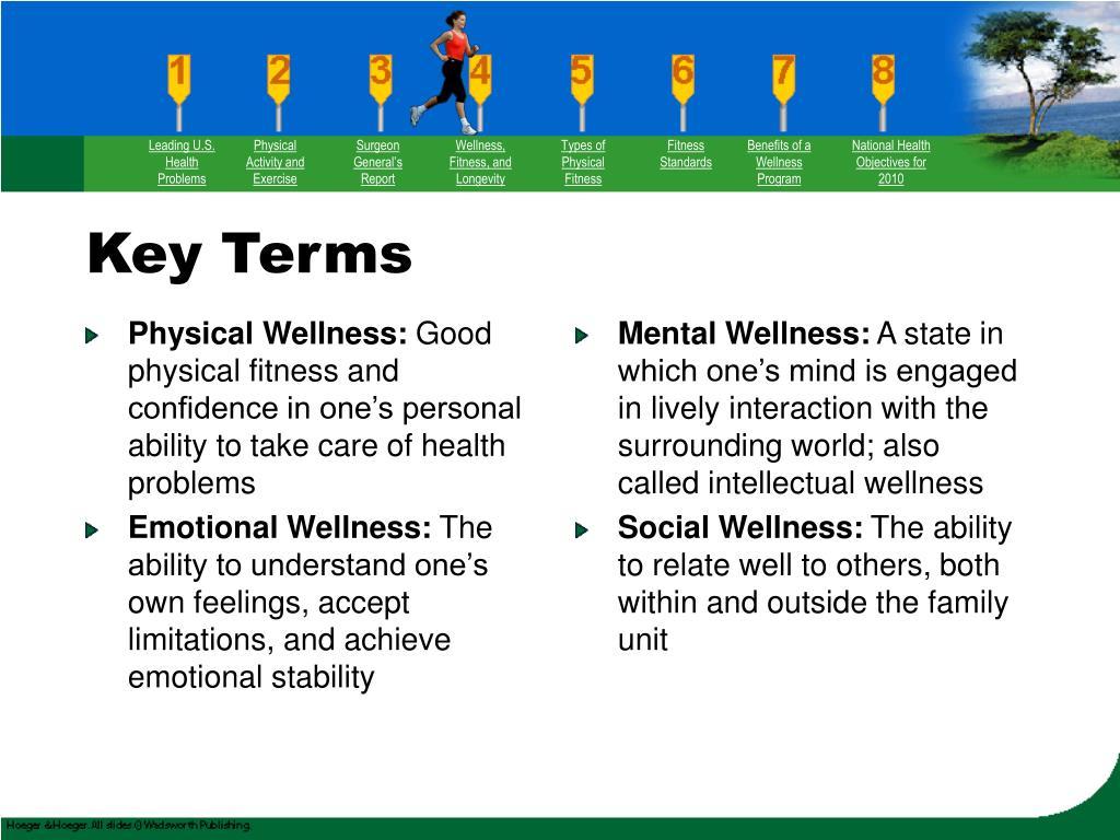 Physical Wellness: