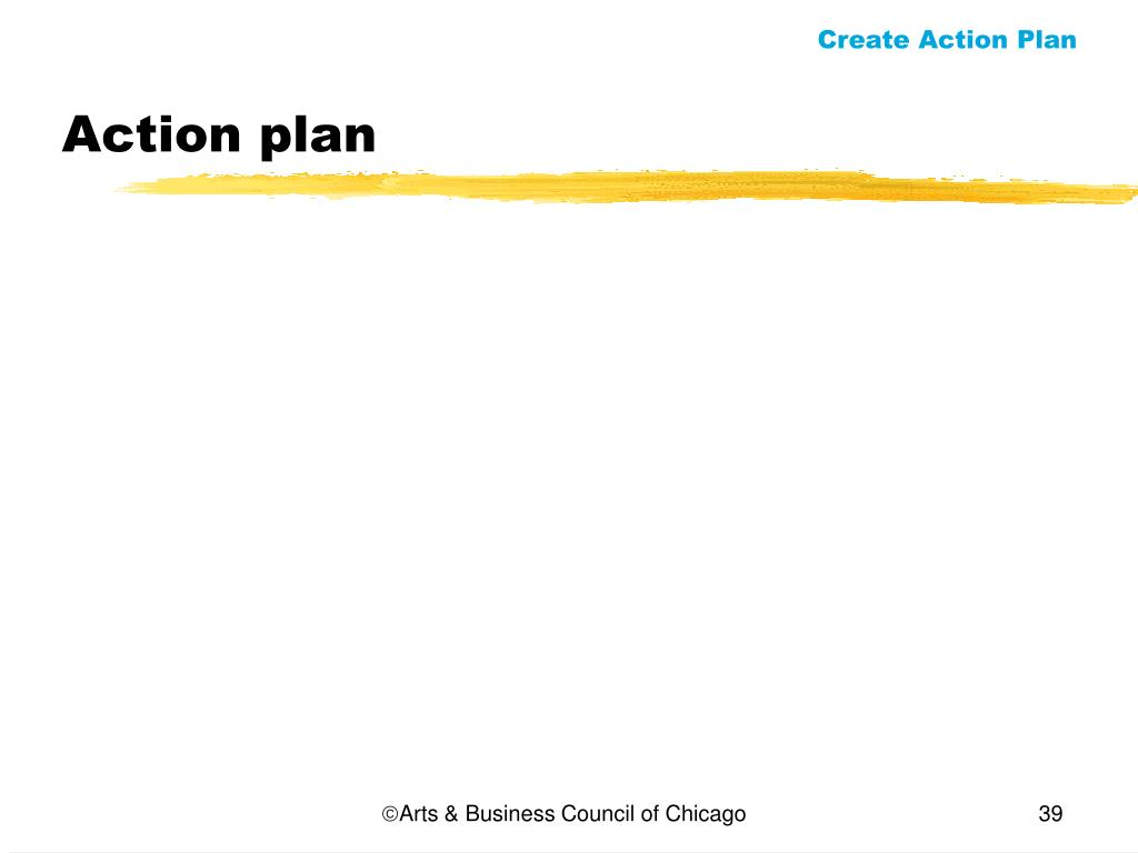 Create Action Plan