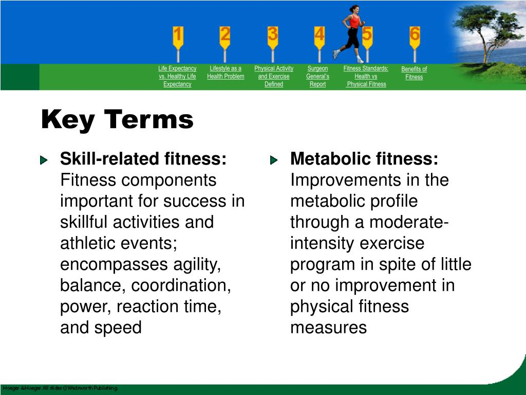 Skill-related fitness: