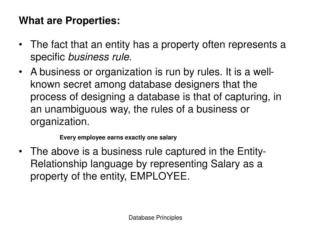What are Properties: