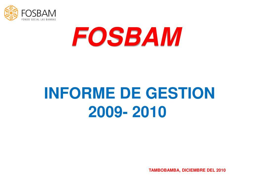 FOSBAM