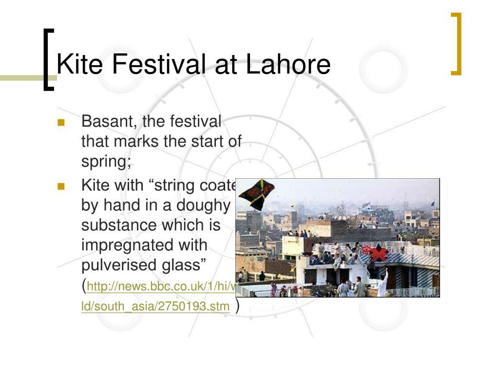 Kite Festival at Lahore