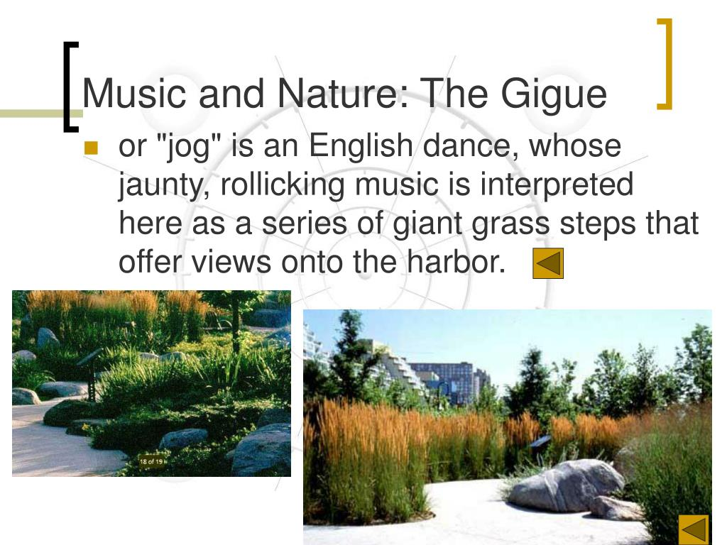 Music and Nature: The Gigue