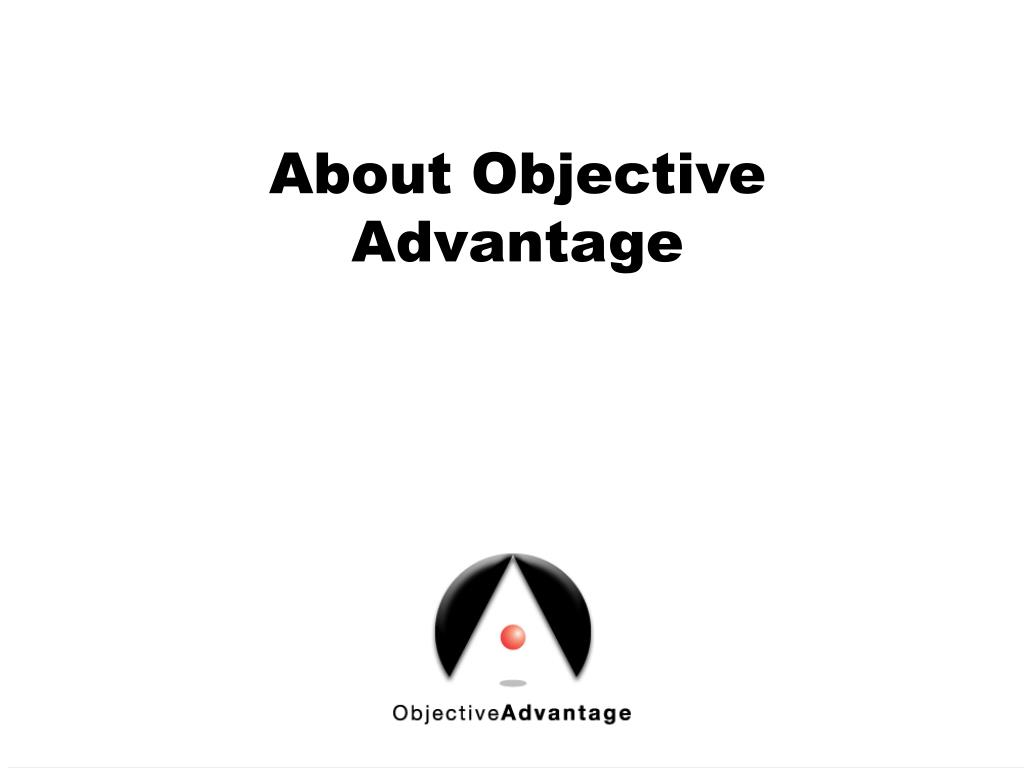 About Objective Advantage