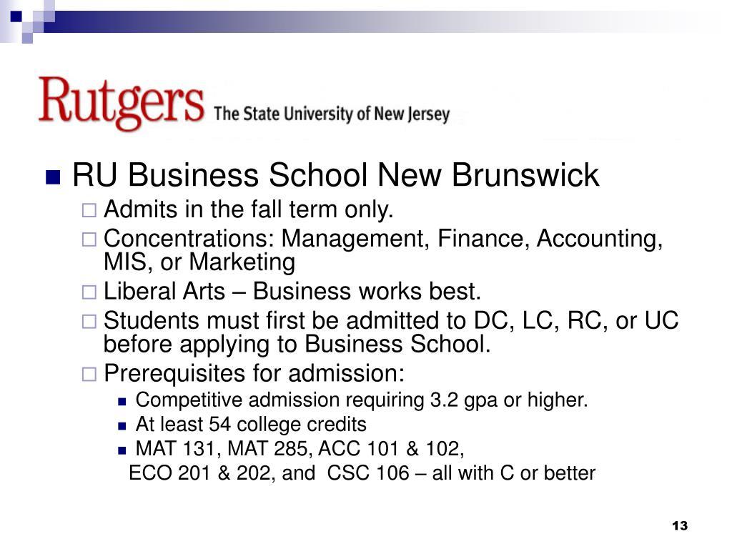 RU Business School New Brunswick