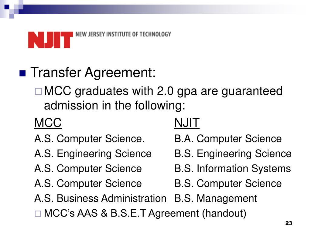 Transfer Agreement: