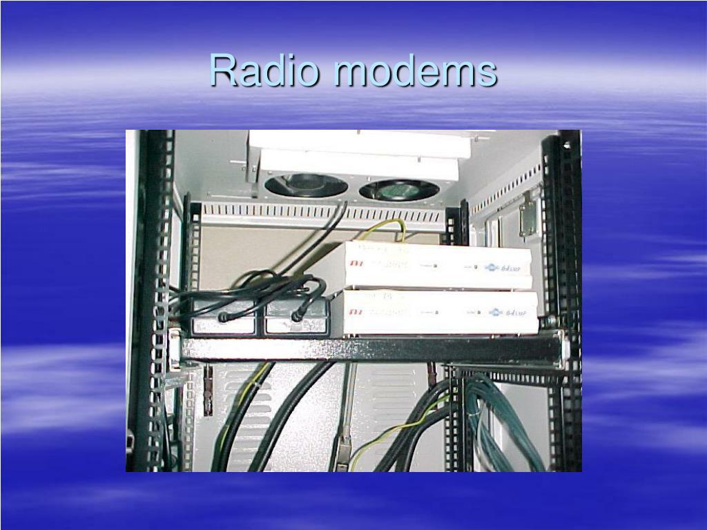 Radio modems