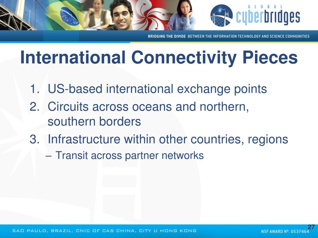 International Connectivity Pieces