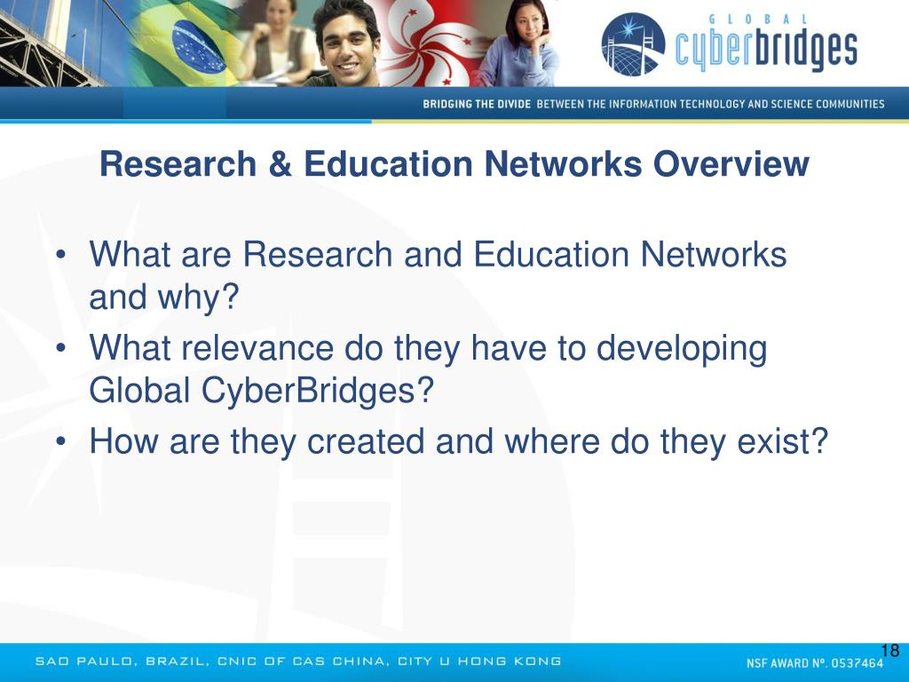 Research & Education Networks Overview