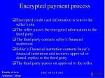 encrypted payment process