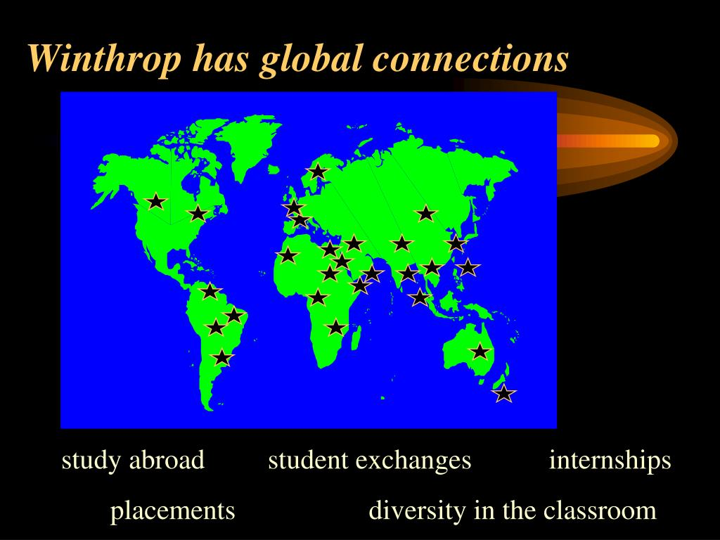 Winthrop has global connections