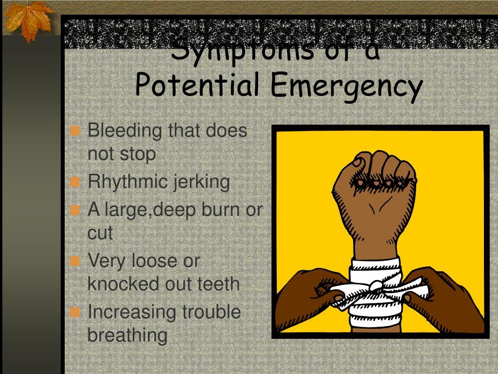 Symptoms of a