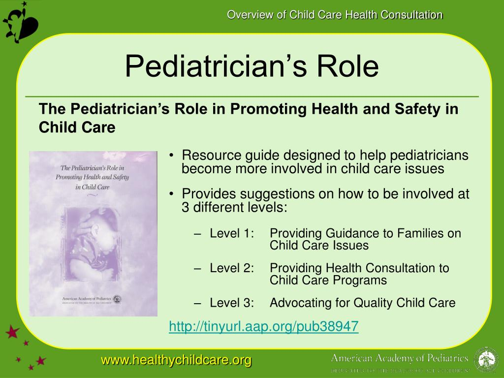 Pediatrician's Role