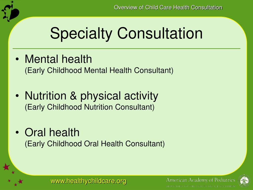 Specialty Consultation