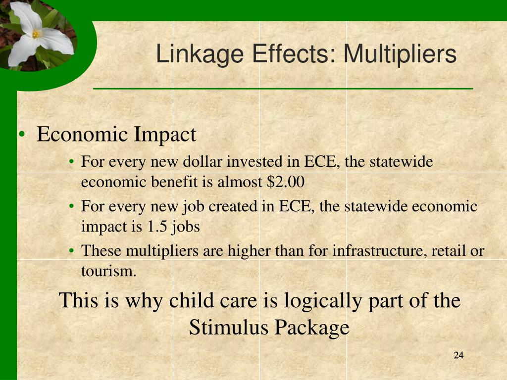 Linkage Effects: Multipliers