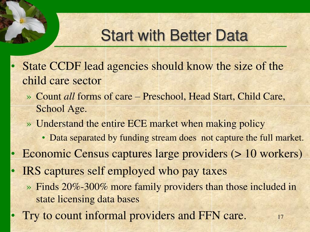 Start with Better Data