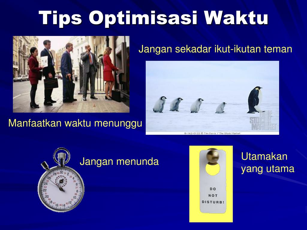 Tips Optimisasi Waktu