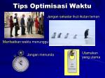tips optimisasi waktu