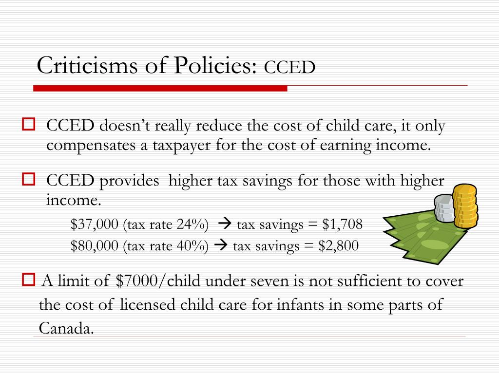 Criticisms of Policies: