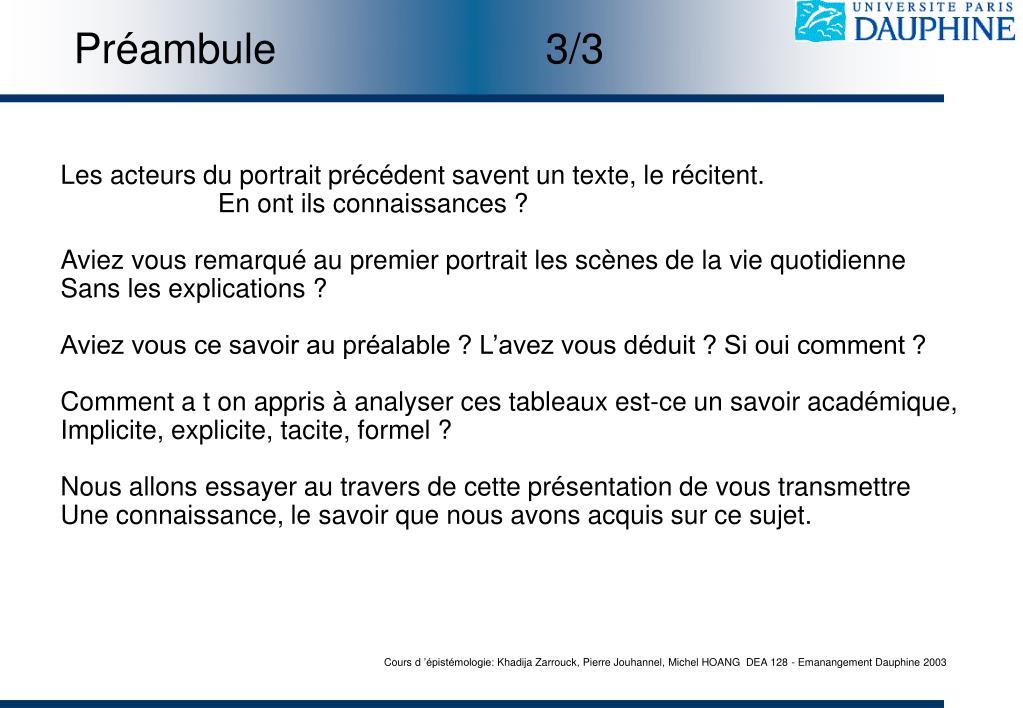 Préambule3/3