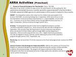 arra activities preschool
