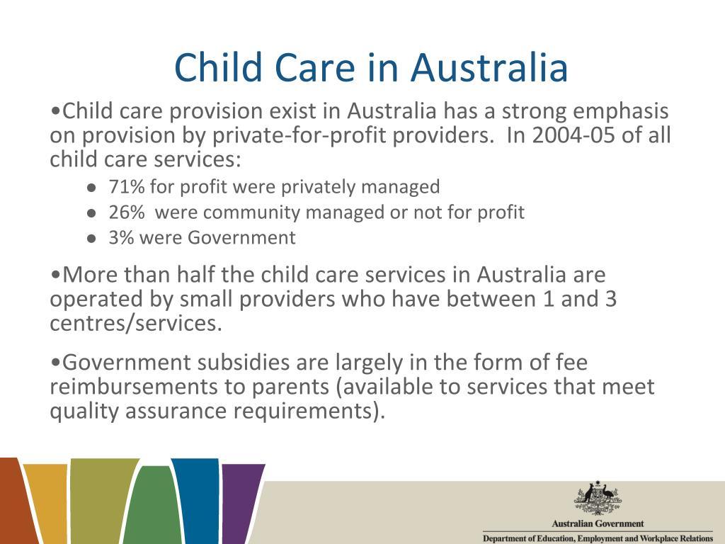 Child Care in Australia