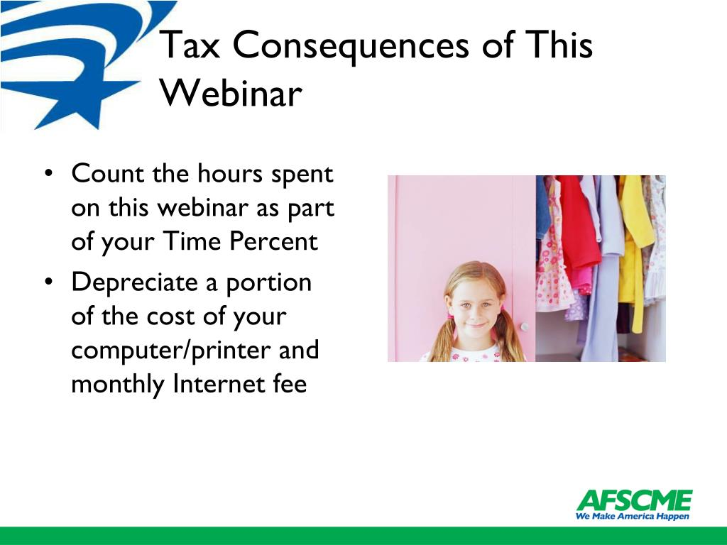 Tax Consequences of This Webinar