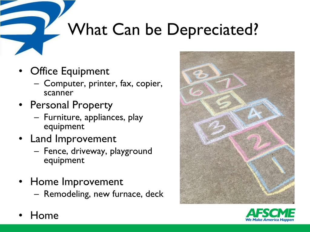 What Can be Depreciated?