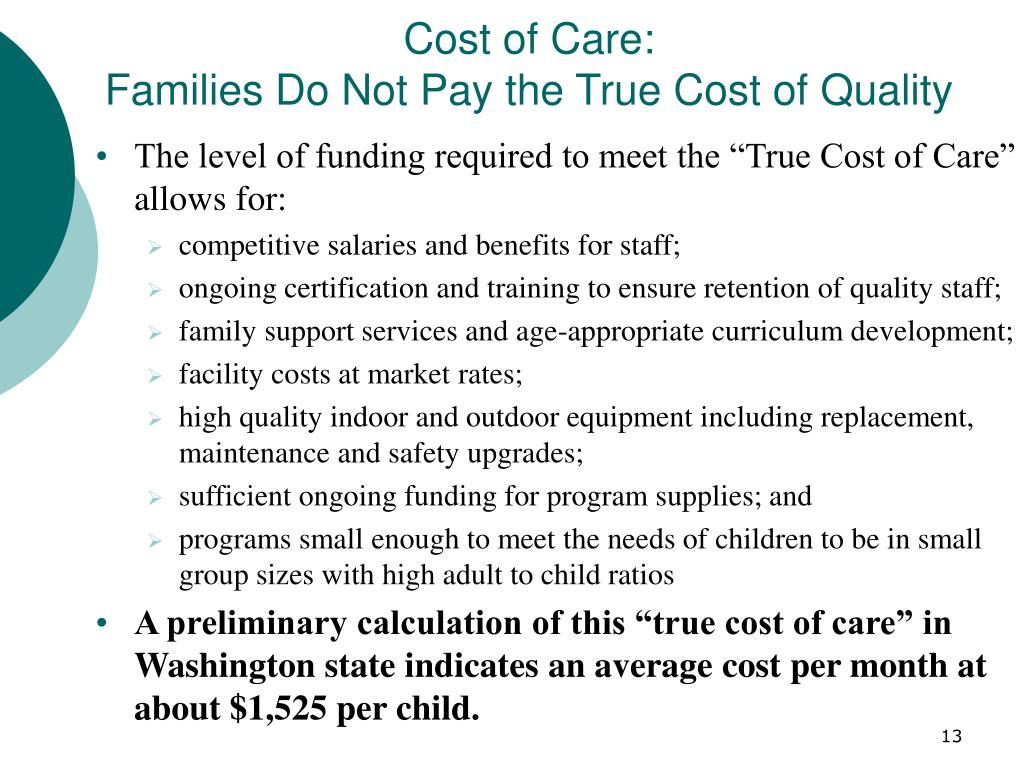 Cost of Care: