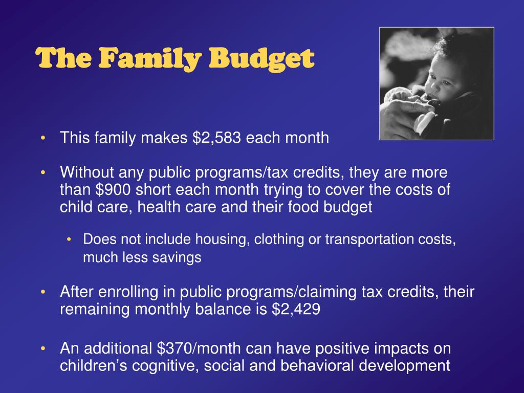 The Family Budget