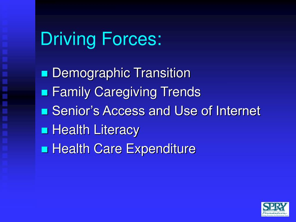 Driving Forces: