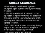 direct sequence10