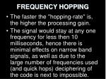 frequency hopping16