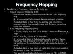 frequency hopping17