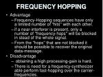frequency hopping18