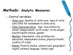 methods analytic measures10