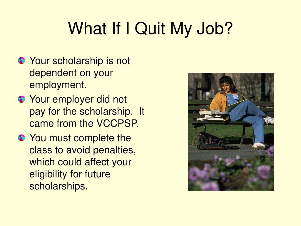 What If I Quit My Job?