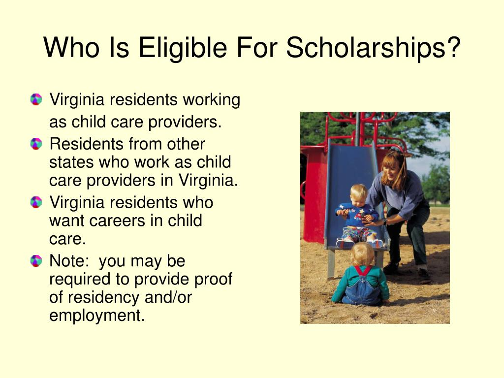 Who Is Eligible For Scholarships?