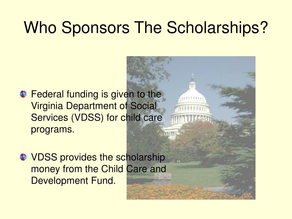 Who Sponsors The Scholarships?