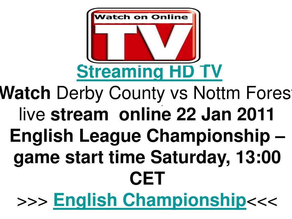 Streaming HD TV