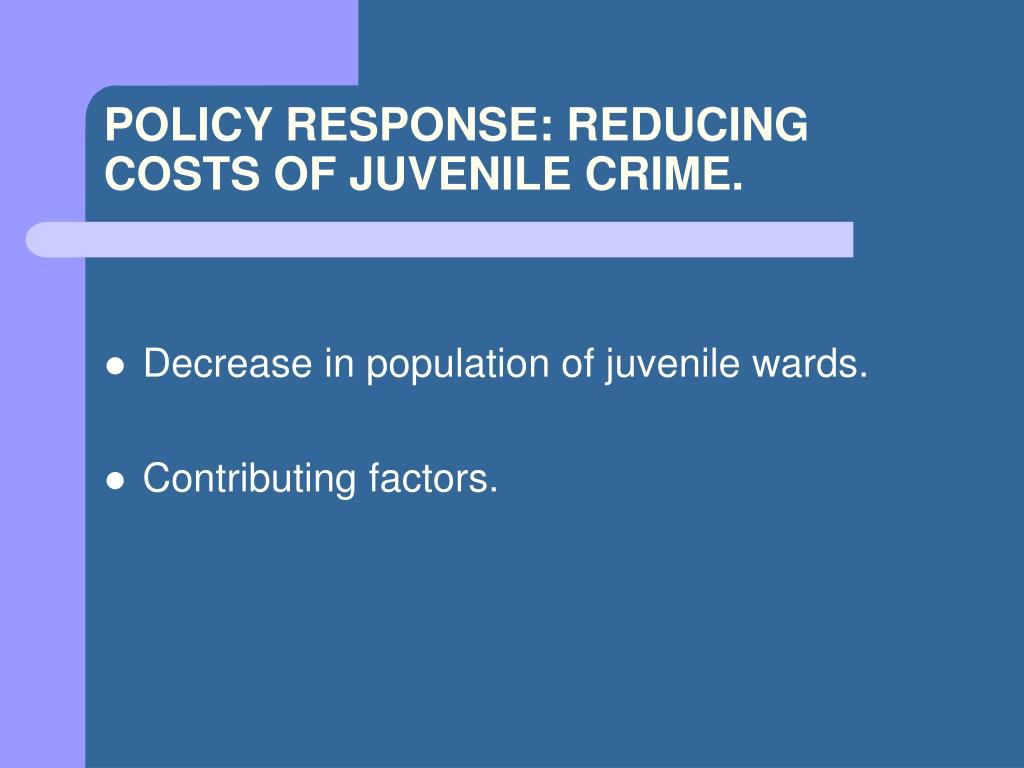 the contributing factors to juvenile delinquency Report on factors that influence juvenile delinquency essay sample what factors contributing to the level of juvenile delinquency in fairview park.