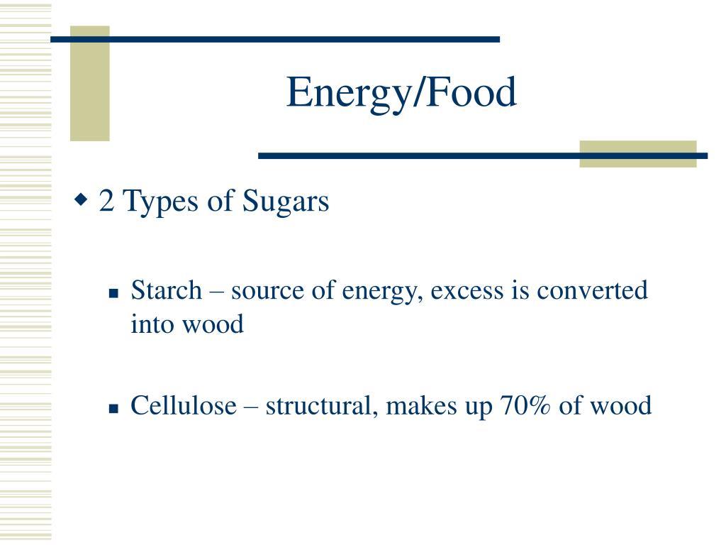 Energy/Food