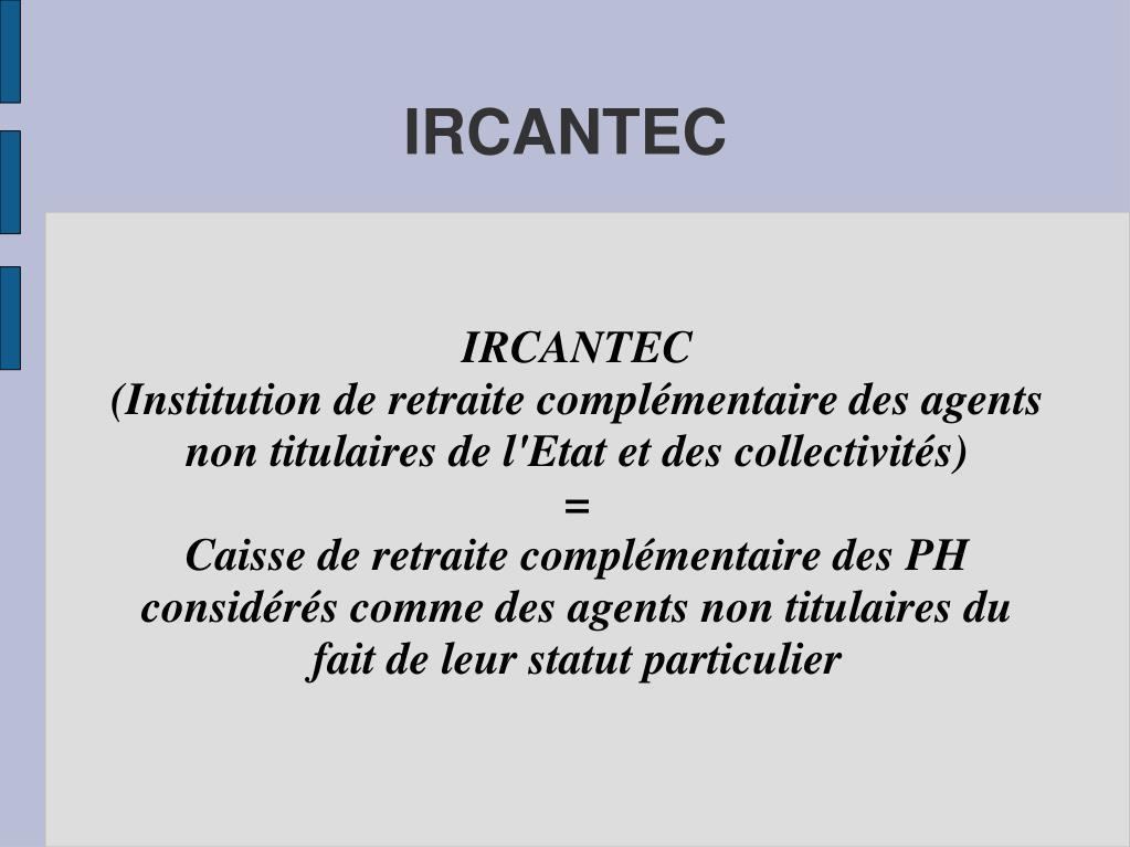 IRCANTEC