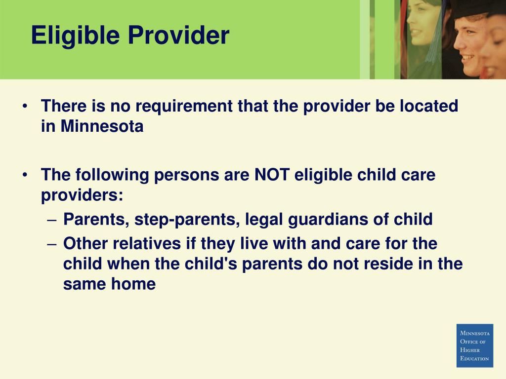 Eligible Provider