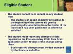 eligible student14