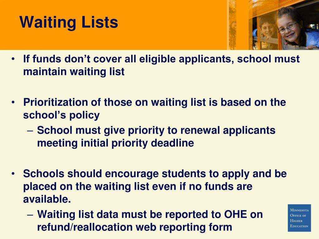 Waiting Lists